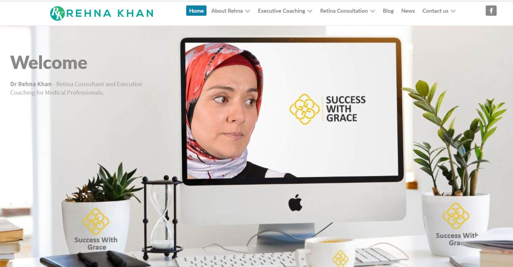 Rehan launches new website1